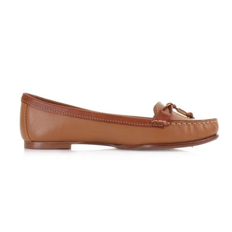 womens sebago ashby tie leather slip on loafers boat