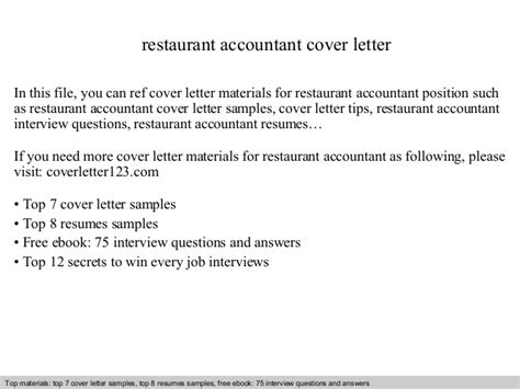 Restaurant Bookkeeper Cover Letter by Resume Sle For Restaurant Accountant Resume Ixiplay Free Resume Sles