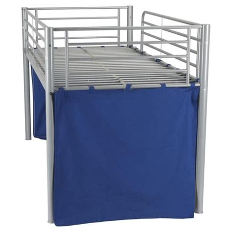 Tesco High Sleeper by Buy Midsleeper Bed Frame With Cover Blue From Our Mid High Sleepers Range Tesco