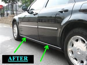 Chrysler 300 Rocker Panel 2005 2010 Chrysler 300 300c Chrome Rocker Trim Panel