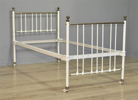 Single Iron Bed Frame Attractive Antique Single 36 Quot Cast Iron Brass Bed Frame 516446 Sellingantiques Co Uk