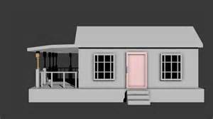 Simpel House Simple House 3d Model Fbx Cgtrader Com