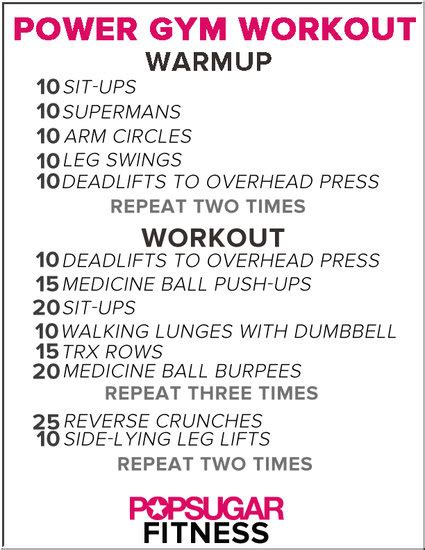 a power workout for your next trip fitsugar
