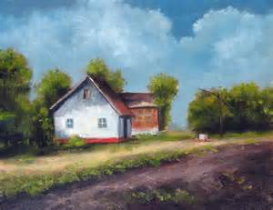 gallery for gt house oil painting