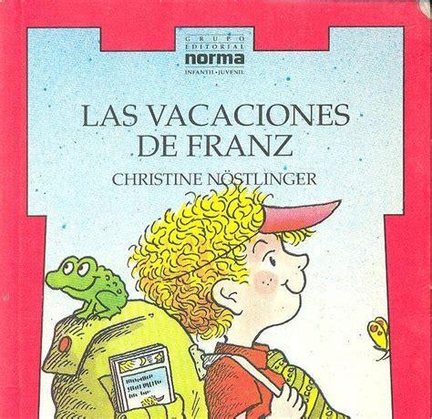 libro las vacaciones del mayor lectura escolar en pdf las vacaciones de franz