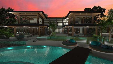 home design style resort resort house chris clout design