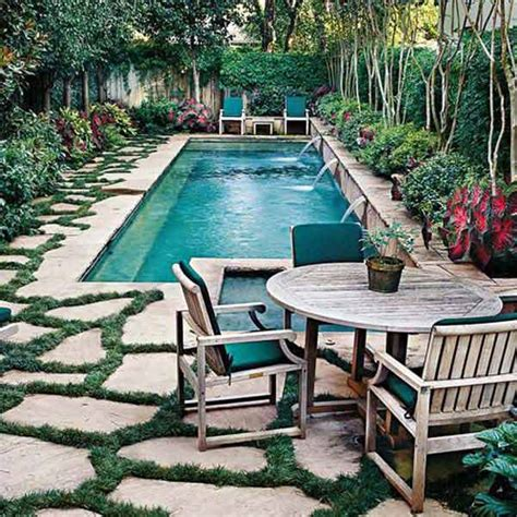 25 Fabulous Small Backyard Designs With Swimming Pool Pool Small Backyard