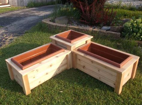 Corner Planter Box corner planter box i this kits planters boxes and photos