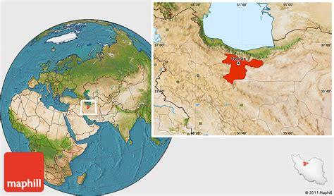satellite map of iran satellite location map of tehran