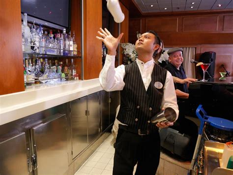 Cruise Ship Bartender by Grand Celebration Ship Photos