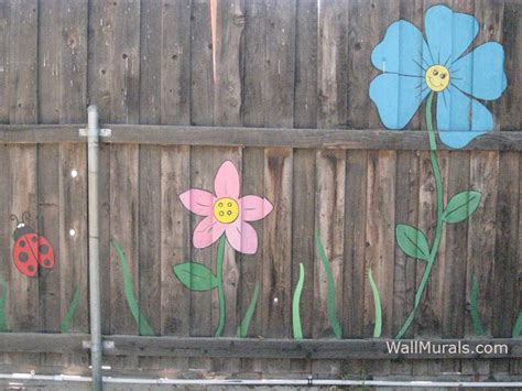 painting backyard fence painted fence my back yard home and cool ideas