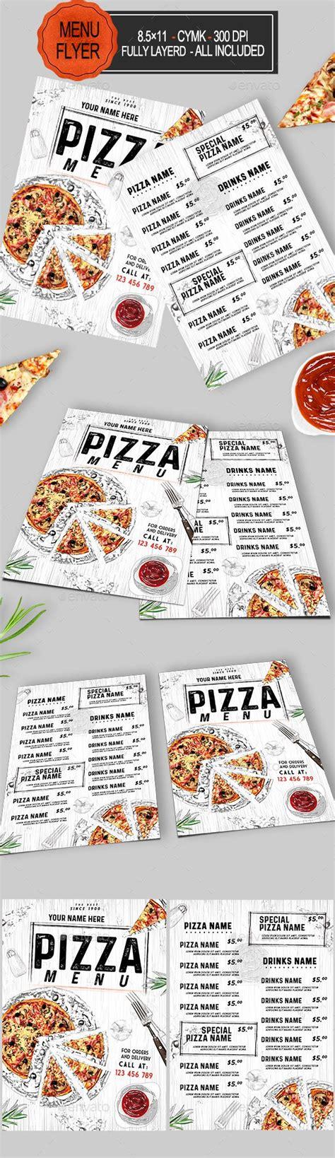 25 best ideas about pizza menu design on pinterest