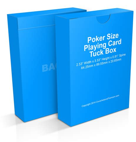 card deck mockup template free tuck box mock up actions cover actions premium