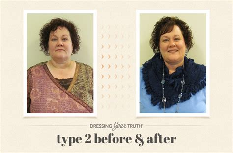 dressing your truth before and after type 2 jana carol tuttle dressing your truth type 3 hairstyles