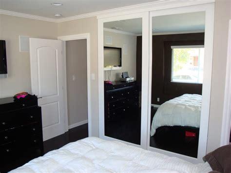Closet Door Company Wood Frame Mirrored Closet Doors Yelp
