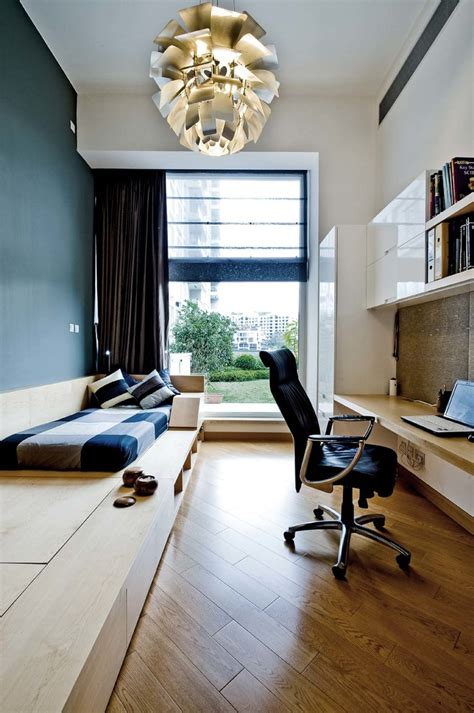 futon in office inspired tatami bed in home office contemporary with