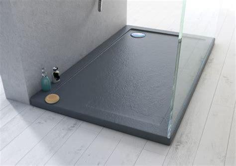 piatti doccia 120x90 piatto doccia ultraslim in acrilico alto 4cm nero misura
