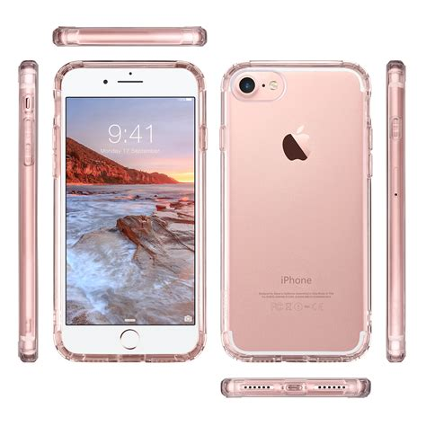 Best Seller Hardcase Bening Sevendays Crystall Iphone 5 6 6 7 7 for apple iphone 7 7 plus slim rubber tpu skin clear gold ebay