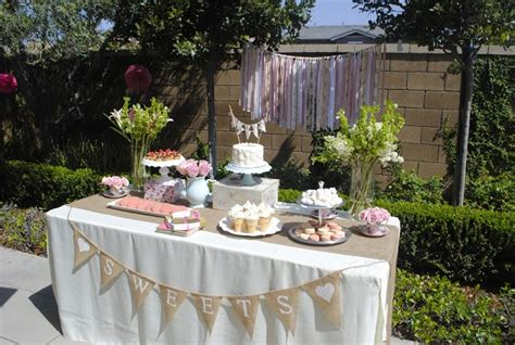 Nye Catering by Shabby Chic Dessert Table Planning