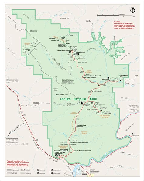 arches national park map arches national park map quotes