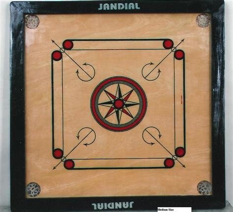Table Design by Jandials Carrom Board Medium Jcb 011
