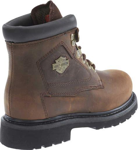 grey motorcycle boots harley davidson women s bayport brown or grey 5 inch