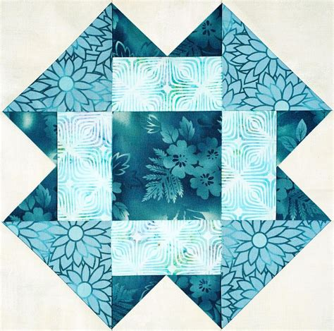 Folded Quilt by You To See Triangle Units Folded Corners By Donna