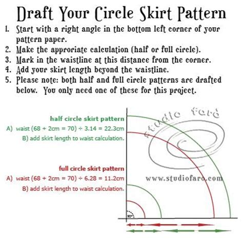 pattern making formula no block required easy pattern making from well suited