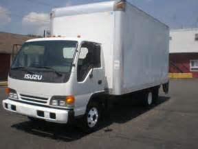 2005 Isuzu Npr For Sale Gmc W4500 Isuzu Npr 16 Box Truck Lift Gate Cab Turbo