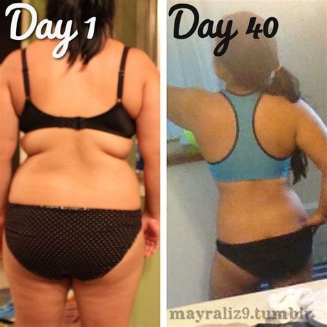 40 Day Diet Detox by Progress After My 40 Day Juice Fast Cleanse From The Back