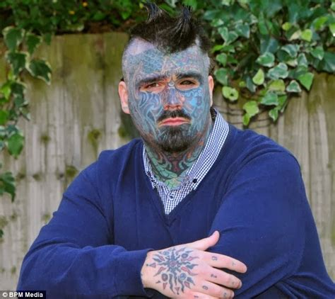 leviticus tattoo fail britain s most tattooed man fails in application for