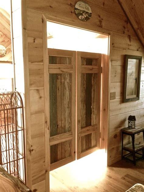 bathroom swinging doors 25 best ideas about swinging doors on pinterest rustic