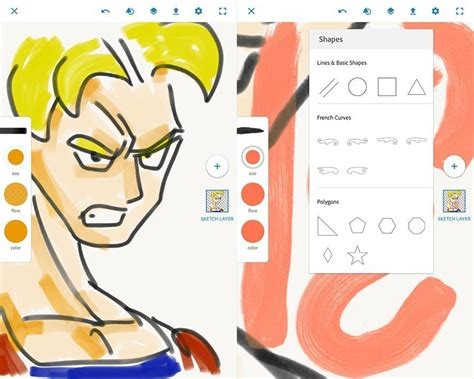 sketchbook uptodown adobe releases three useful free editing tools for android