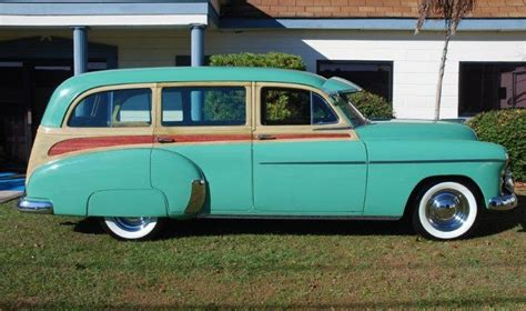 1950 chevrolet station wagon 1950 chevrolet woody station wagon f76 kissimmee 2011