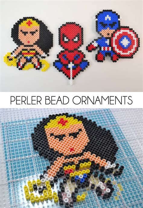 Easy Accessories To Make And Use Every Day by Perler Bead Ornaments A Bigger