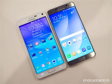 samsung galaxy note 5 versus note 4 what s the difference