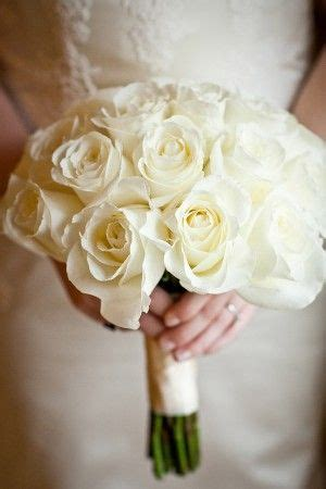 Wedding Bouquet White Roses by 25 Best Ideas About Ivory Bouquet On