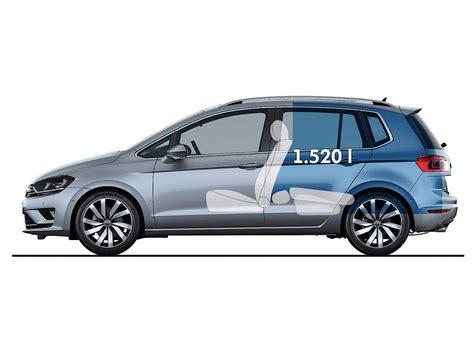 Golf Auto Evolution by Volkswagen Golf Sportsvan 2014 2015 2016 2017