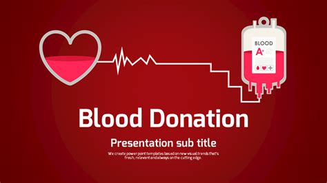 Powerpoint Templates Free Download Vision Choice Image Blood Donation Ppt Template Free