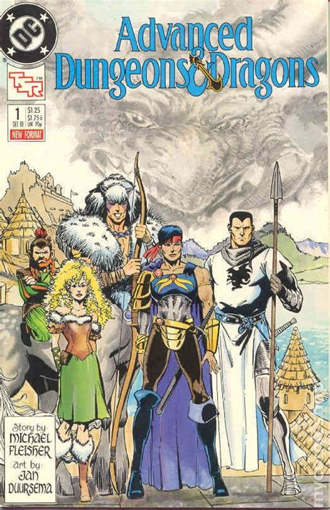 dungeons and dragons comic by advanced dungeons and dragons 1988 comic books