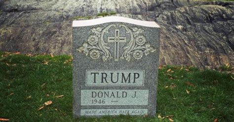 gene wilder headstone a carved tombstone popped in central park for donald trump