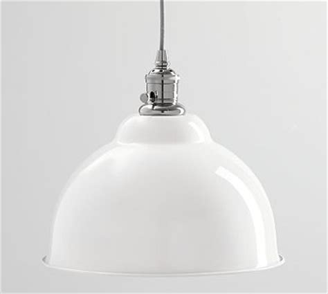 Bell Shaped L Shade Large by Pendant Kit Nickel Finish Bell Shaped Large Shade