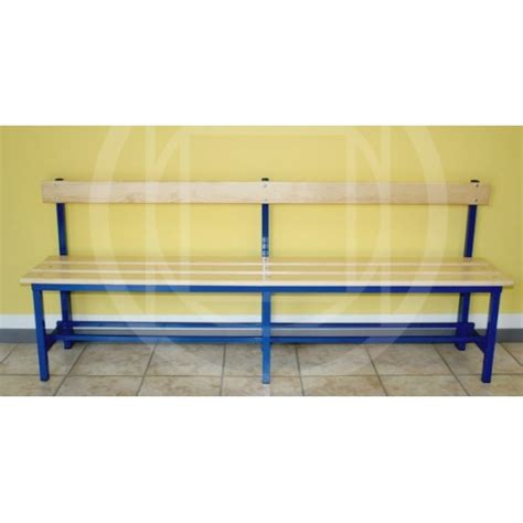 wood locker room benches locker room benches wooden bench with backrest