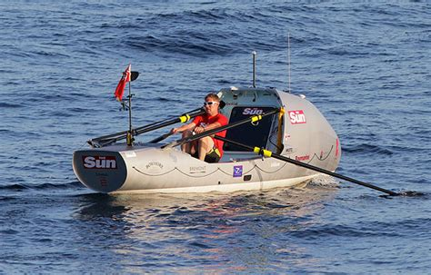row boat around the world fastest solo crossing of the atlantic in a rowing boat