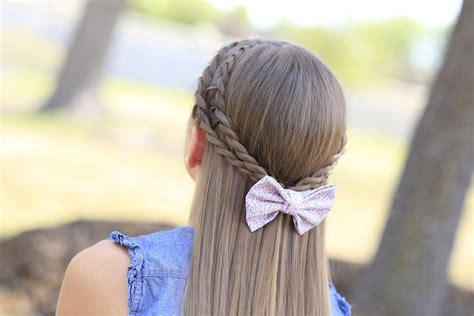 create  zig zag twistback cute hairstyles cute