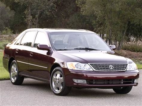 2003 toyota avalon   pricing, ratings & reviews   kelley