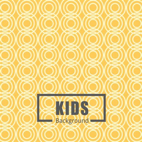 yellow pattern ai yellow pattern background for kids vector free download