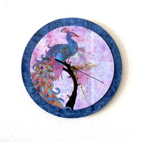 cool menu002639s wall decor clocks full image for cool unique wall clock peacock decor decor and housewares