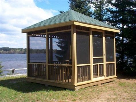 screened gazebo kits gazebo design astounding screened gazebo kits gazebos at