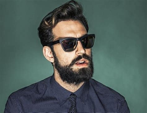 beards are trendy trendy dark haired man with beard beard pictures